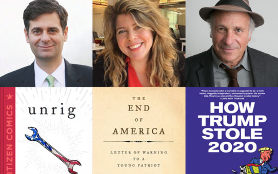 How to UnSteal the Election & UnRig Democracy: Dr. Naomi Wolf in conversation with Daniel G. Newman & Greg Palast